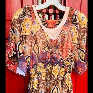 Sundance silk dress 4